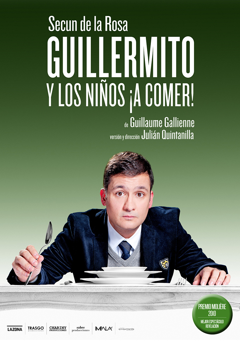 Guillermito and the children, let's eat!